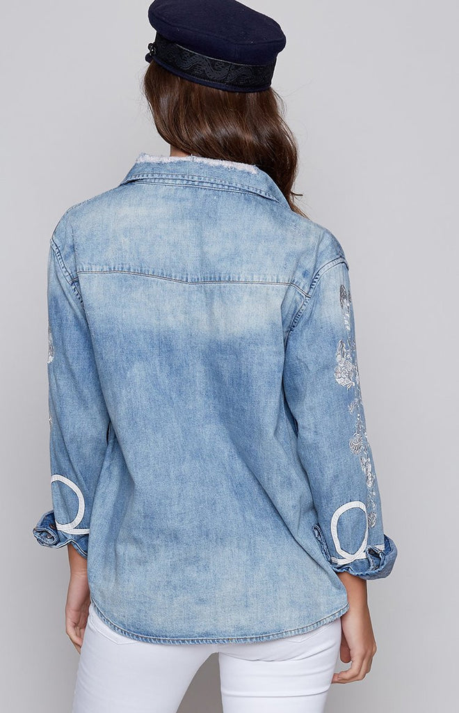 OneTeaspoon Heartland Denim Shirt