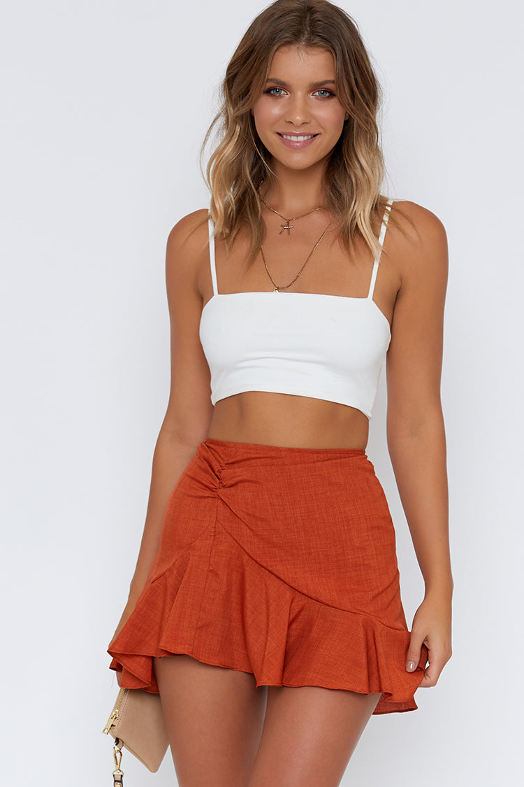 Ring Of Fire Skirt Rust