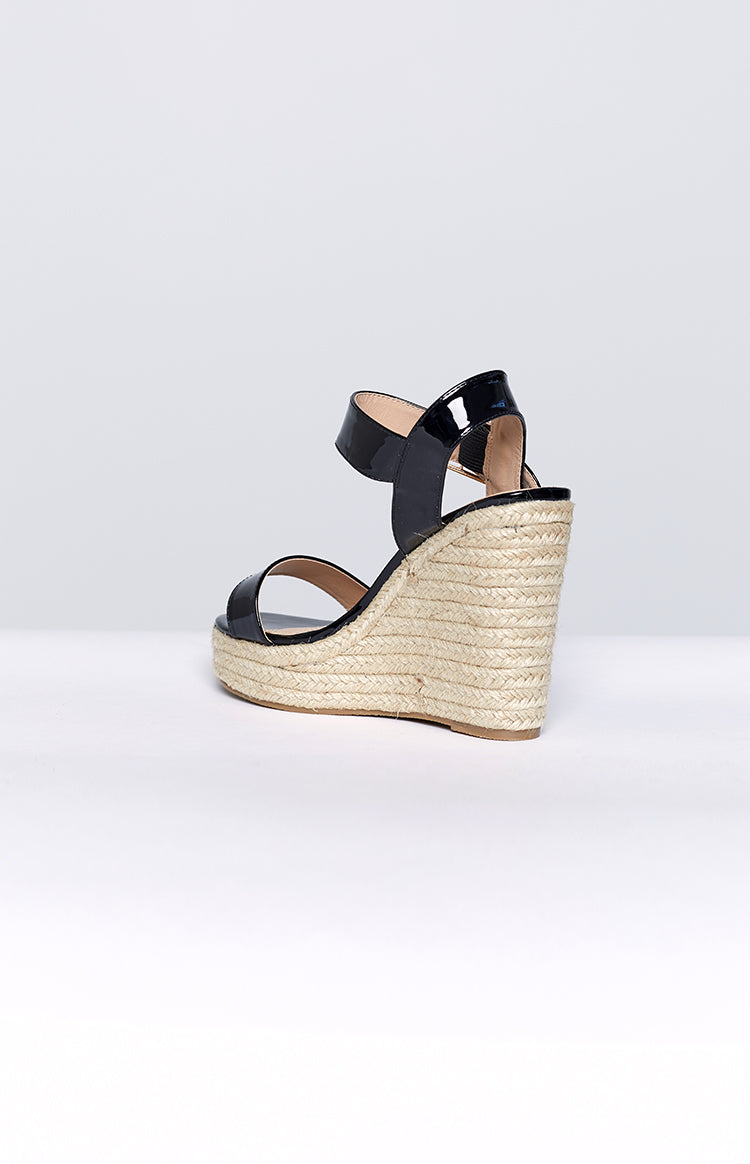 Therapy Zappie Wedges Black