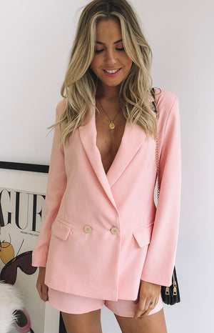 Teenage Dream Blazer Pink