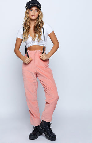 Tough Love Oversized Pants Pink