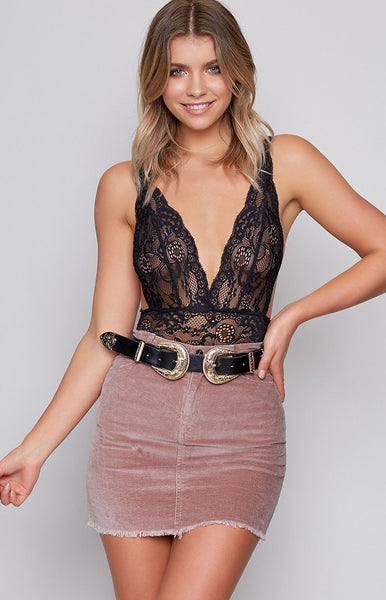 Lala Mini Skirt Blush