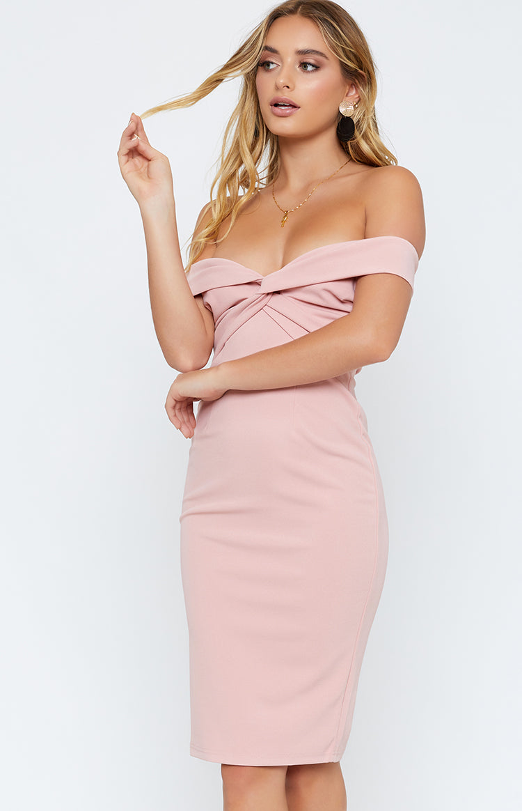 Knot Your Love Dress Blush
