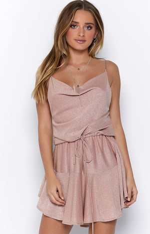 Fairy Sparkle Dress Pink