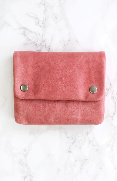 Status Anxiety Norma Clutch Pink