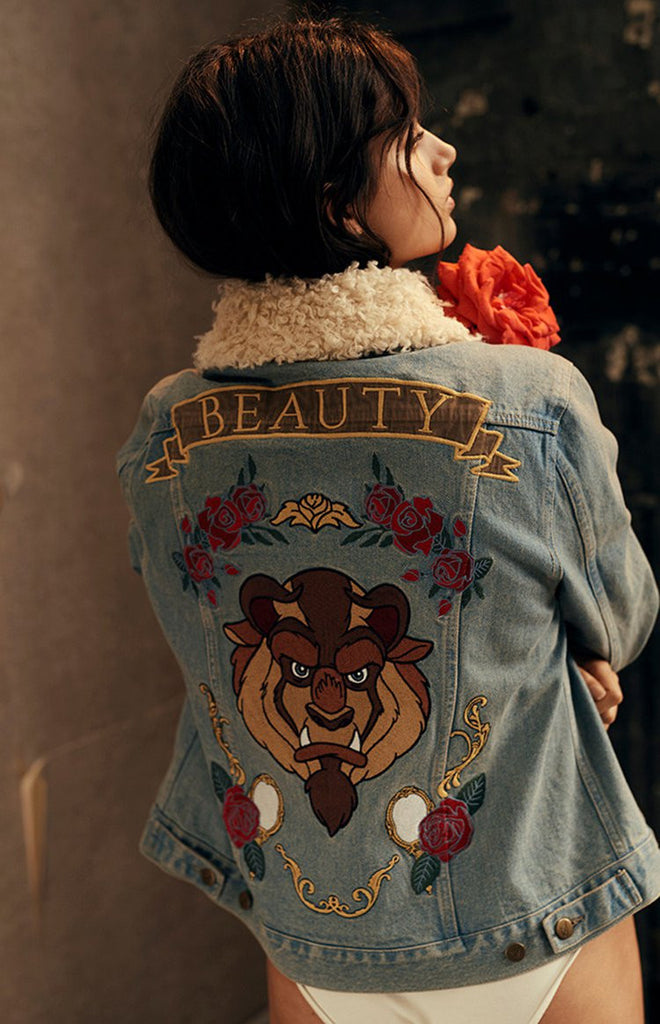 MinkPink x Disney Baroque-N Beauty Applique Jacket