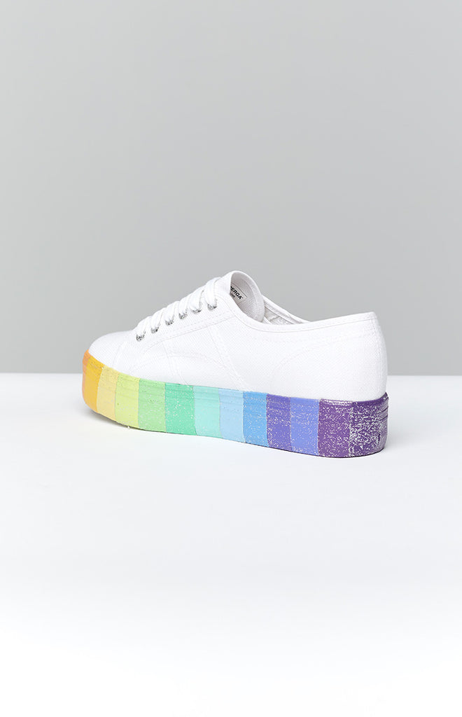 Superga 2790 CotwMulti Glitter Canvas Sneaker Multicolour 2