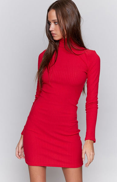 I.AM.GIA Yoko Dress Red