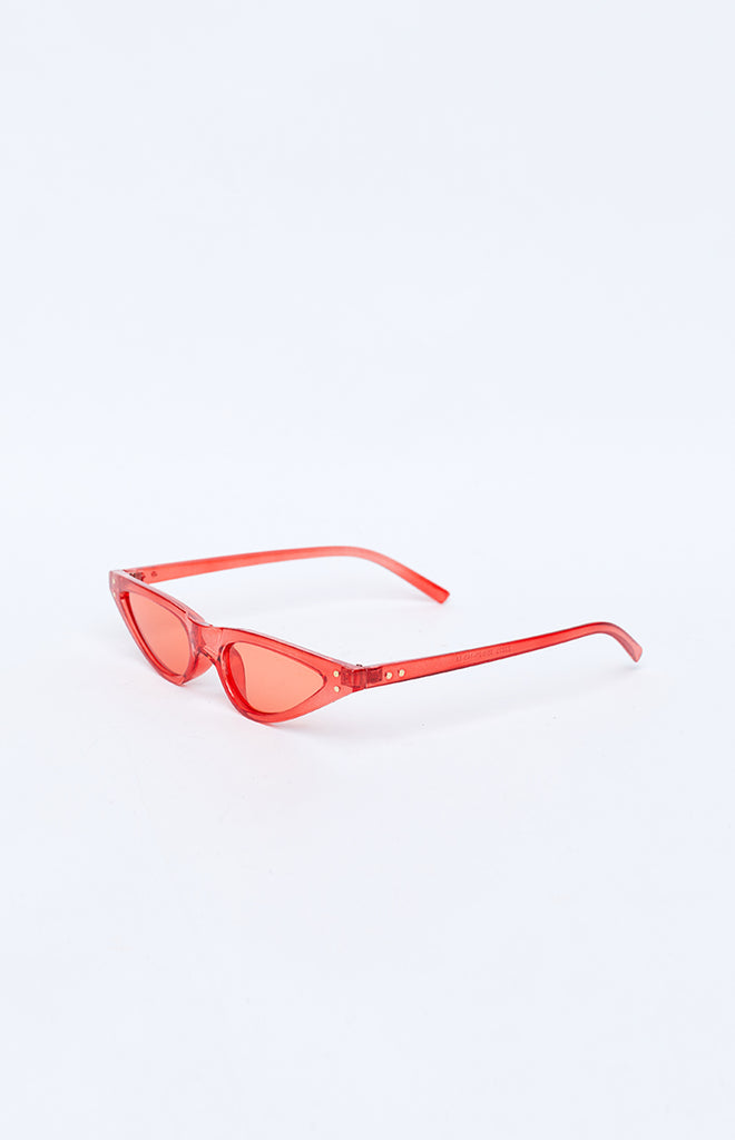 La Lune Wild One Sunglasses Red