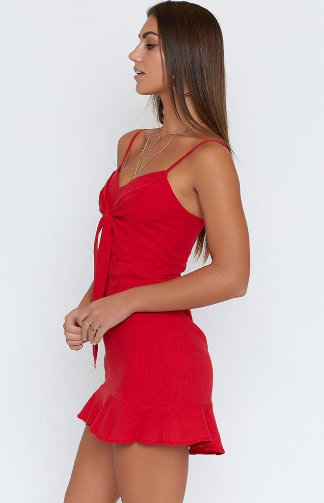 Touch The Sky Dress Red