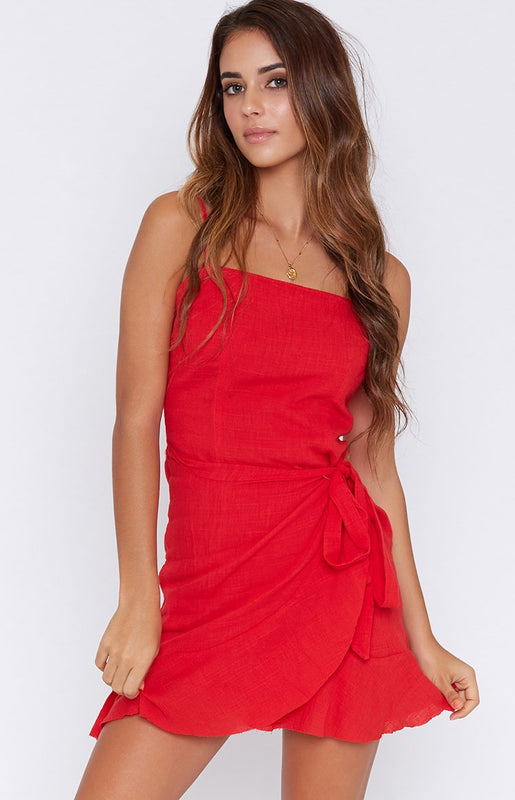 Lenny Dress Red
