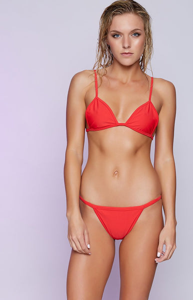 9.0 Swim Cruz Bikini Set Red