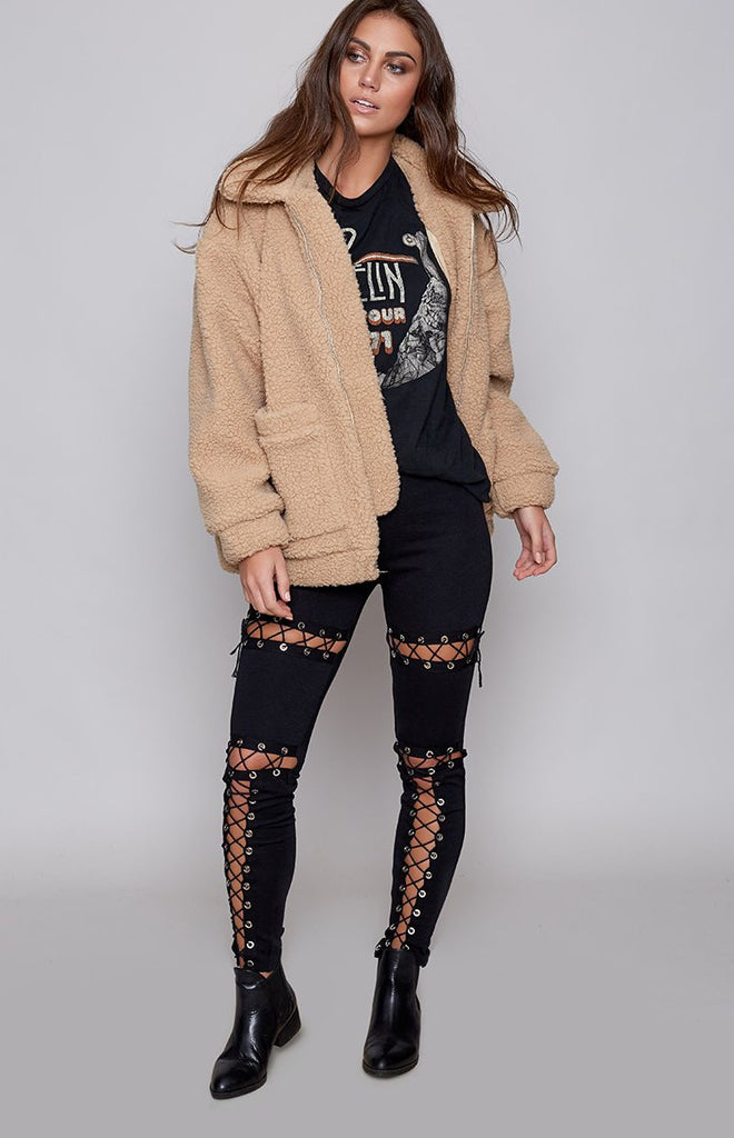 Hellcat Laced Pants Black