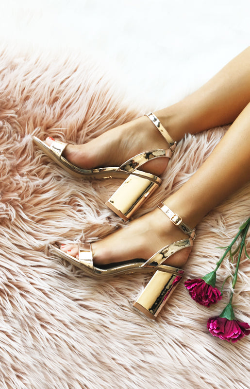 Windsor Smith Barlo Rose Gold