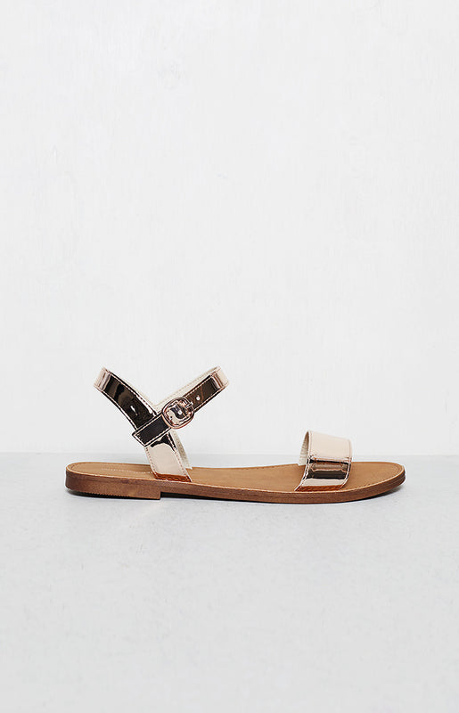 Windsor Smith Bondi Sandals Rose Gold