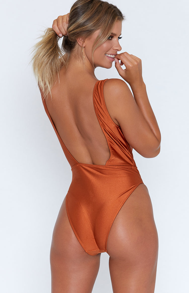9.0 Swim Caribbean One Piece Metallic Rust