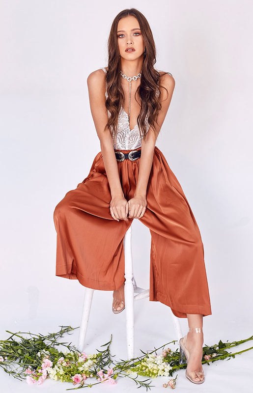 Rosewood Culottes Rust