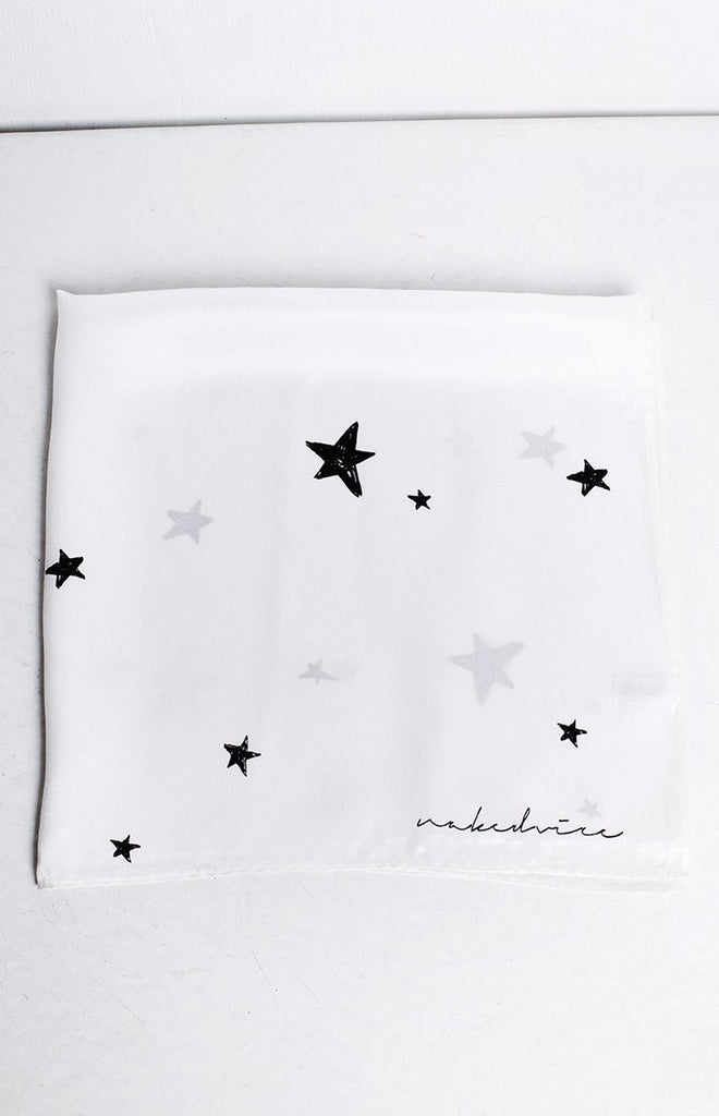 NakedVice The Star Crossed Scarf White