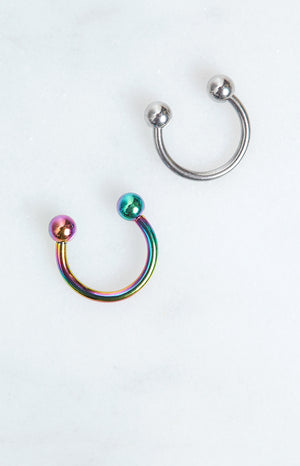 Eclat Potion Septum Ring Rainbow
