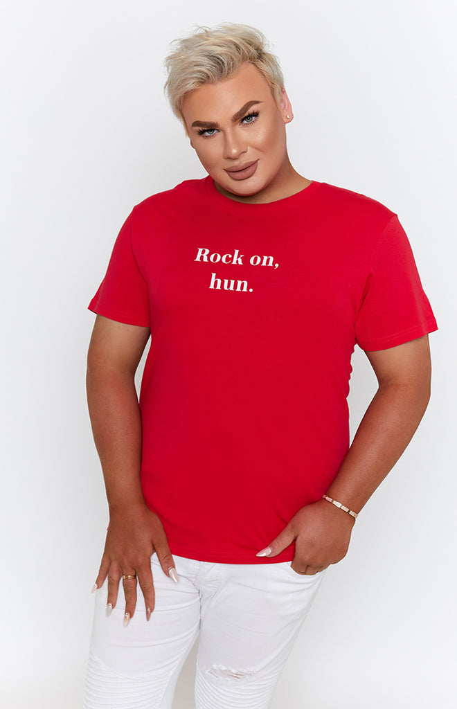 Michael x Shani Rock On Hun Tee Red