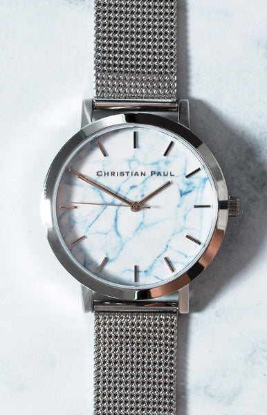 Christian Paul Hayman Marble Mesh 35mm Watch