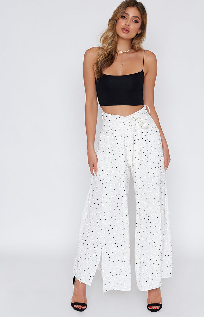 Now And Then Pants Polkadot