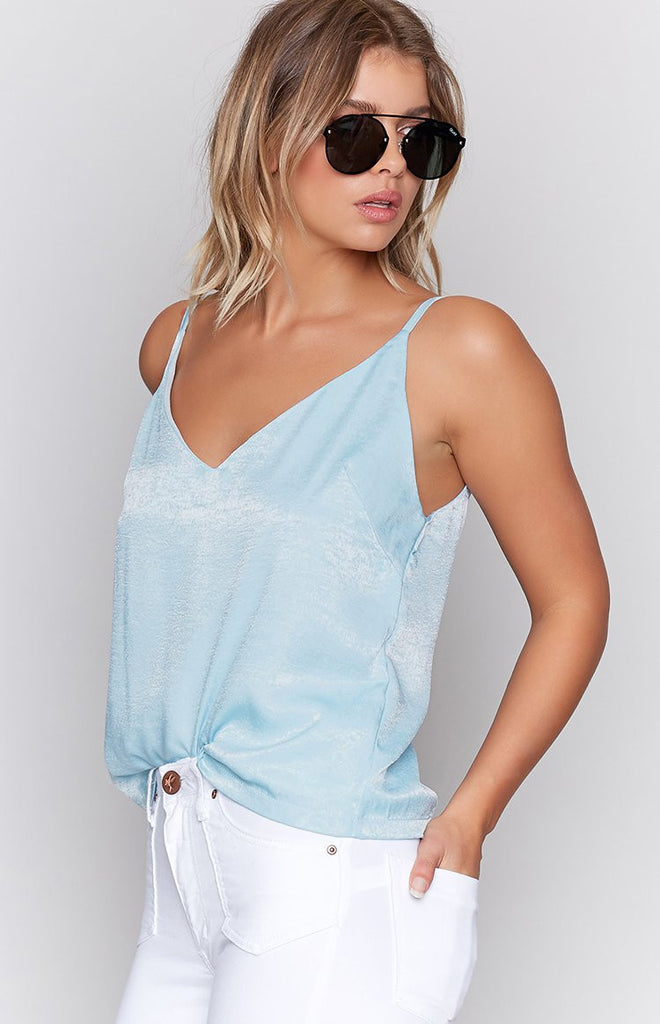 Statise Cami Pale Blue