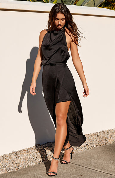 Monumental Dress Black
