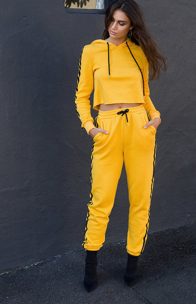 I.AM.GIA Kill Bill Track Pant Yellow