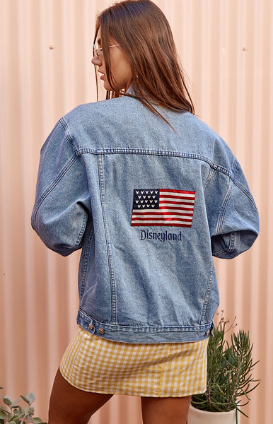 Vintage American Disneyland Denim Jacket