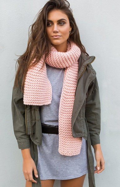 Get Cosy Scarf Pink