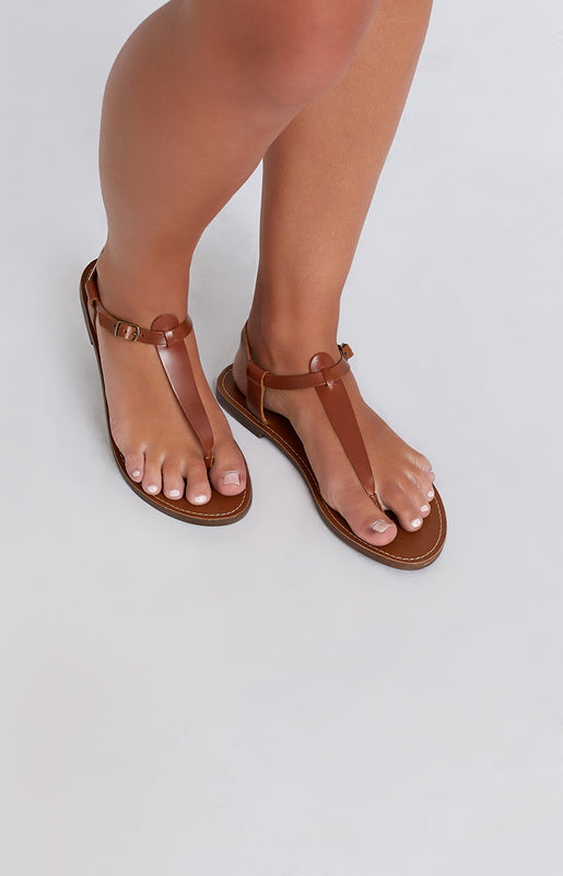Windsor Smith Bax Sandals Tan