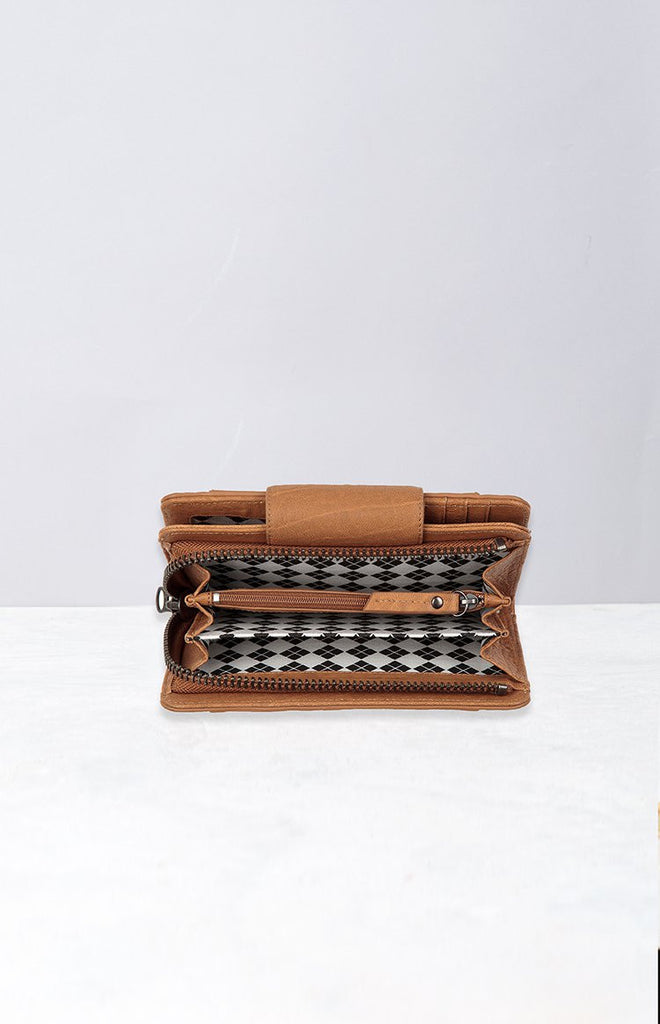 Status Anxiety Precipice Wallet Tan