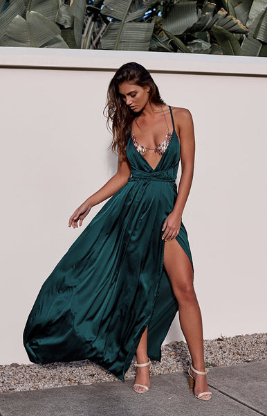 Pandora Formal Dress Teal