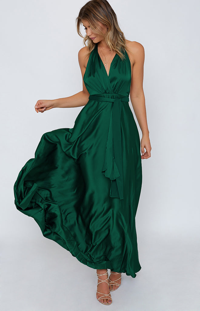 Coast Of Italy Dress Jade