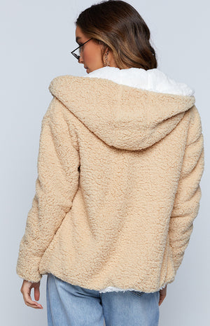 Cosy Nights Jacket Beige