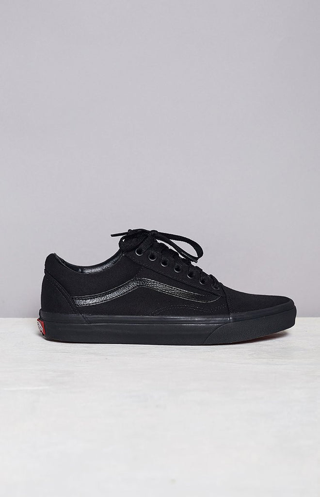 Vans Old Skool Sneaker Black Canvas