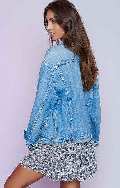 Vintage Levi Denim Jacket Blue Wash