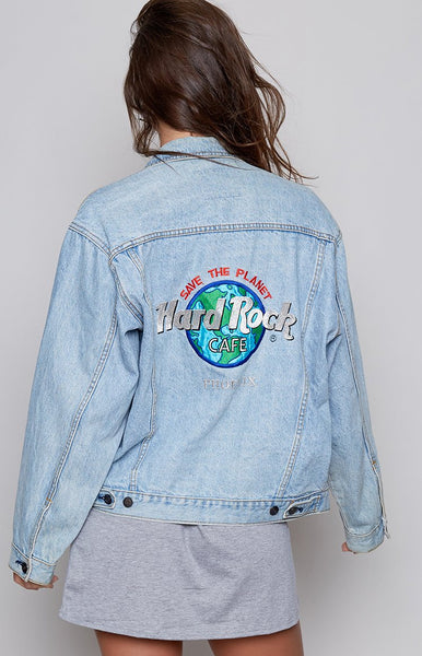 Vintage Hard Rock Cafe Phoenix Denim Jacket