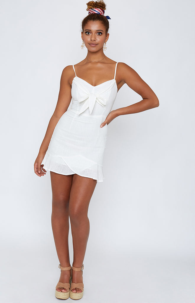 Touch The Sky Dress White