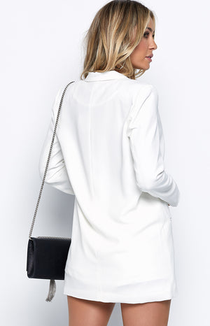 Ladysmith Blazer White