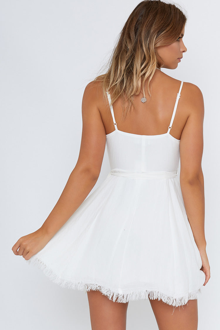 Under The Moon Dress White