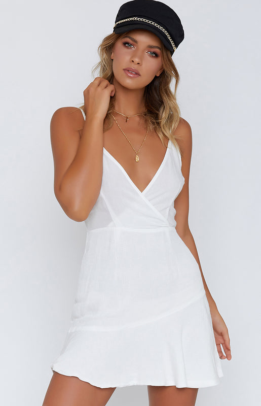 Ski Slopes Dress White