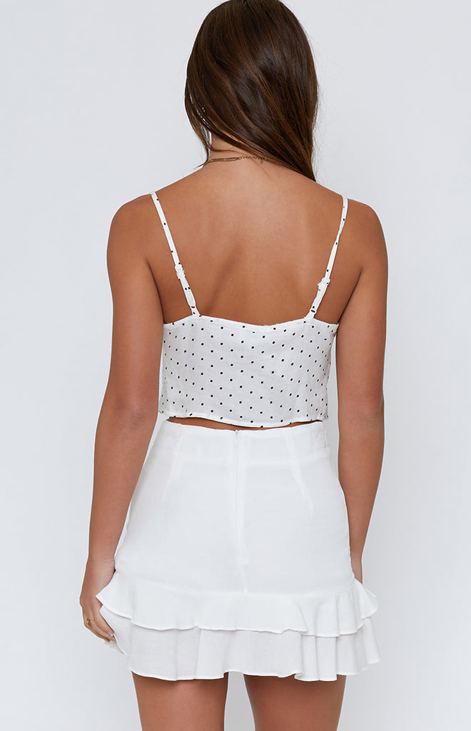 Lulu Crop White