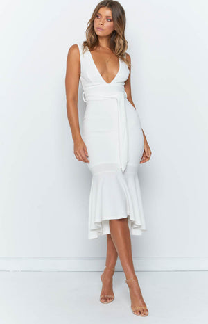 Stargazer Formal Dress White