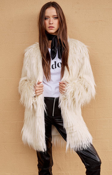 Sable Fur Coat Blonde