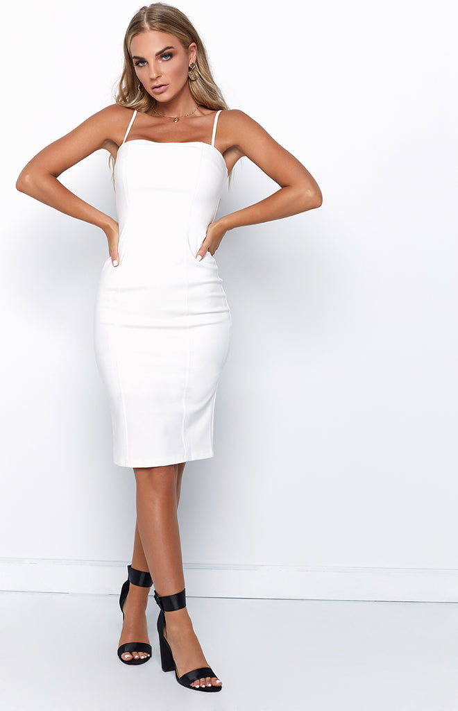 Daphne Dress White
