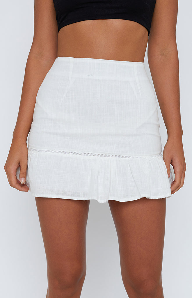 Martha Skirt White