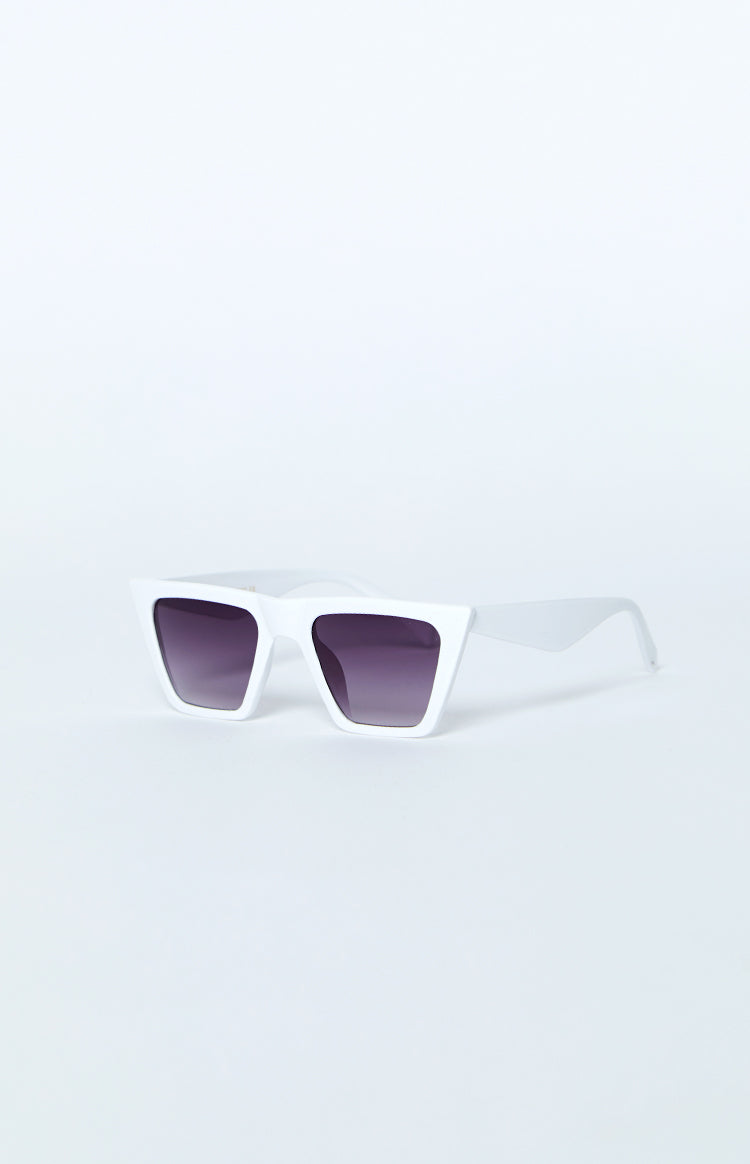 La Lune Del Mar Sunglasses White
