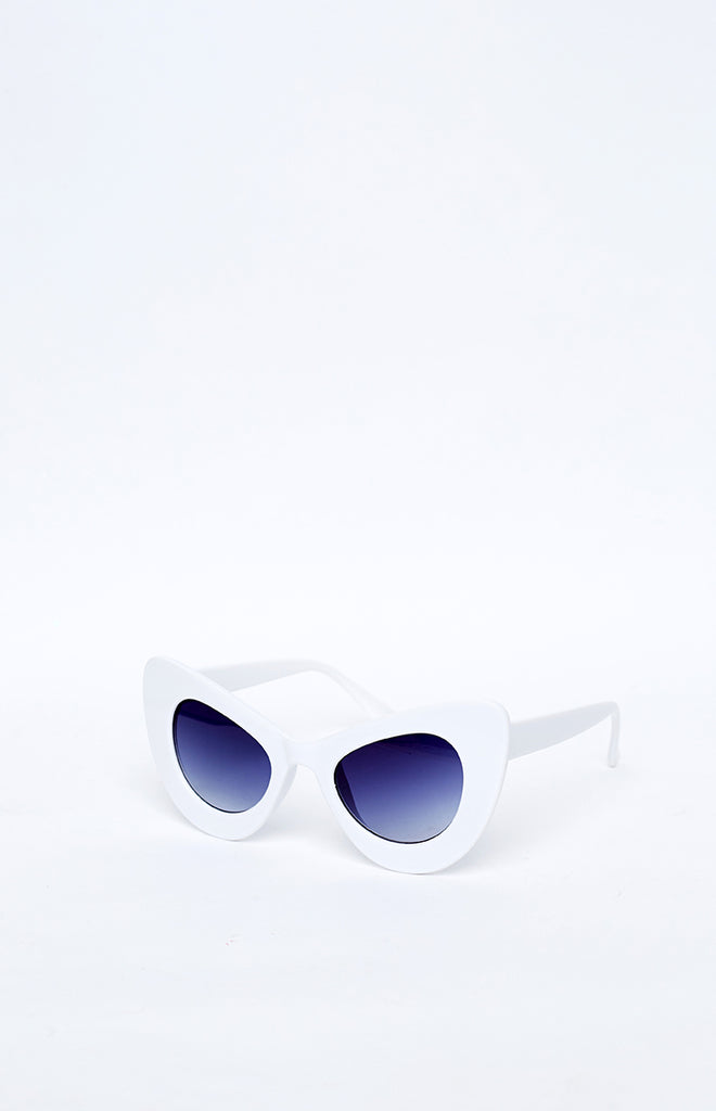 Gigi Sunglasses White